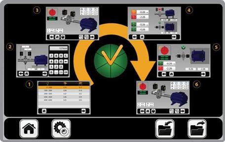 Пошаговый интерфейс с 3D анимацией